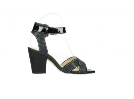 wolky sandalen 4640 nyc 621 antraciet slangenprint leer_13