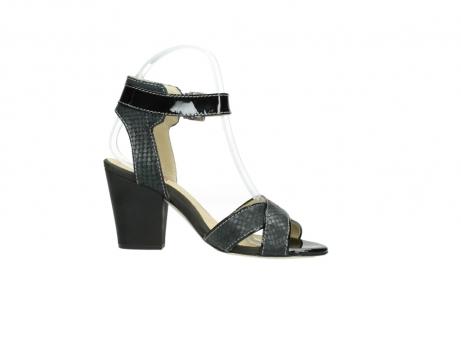 wolky sandalen 4640 nyc 621 antraciet slangenprint leer_14