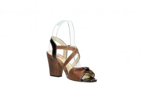 wolky sandalen 4641 la 643 cognac leer_16