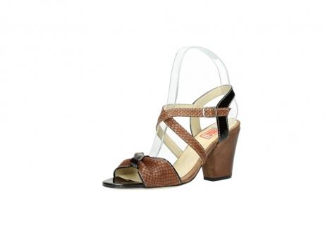wolky sandalen 4641 la 643 cognac leer_23