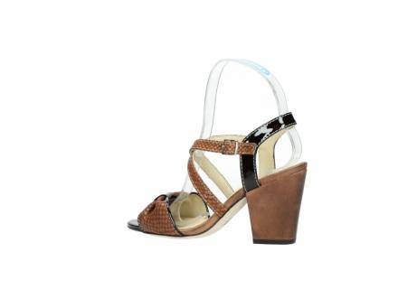 wolky sandalen 4641 la 643 cognac leer_3
