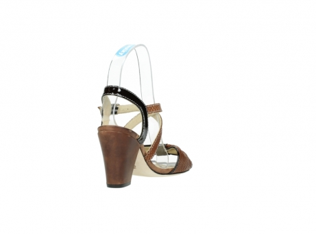 wolky sandalen 4641 la 643 cognac leer_9