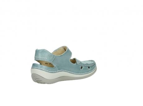 wolky sandalen 4801 venture 378 aqua blau leder_10