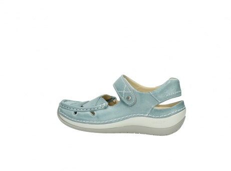 wolky sandalen 4801 venture 378 aqua blau leder_2