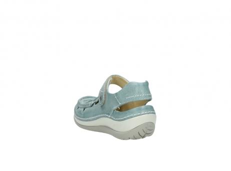 wolky sandalen 4801 venture 378 aqua blau leder_5