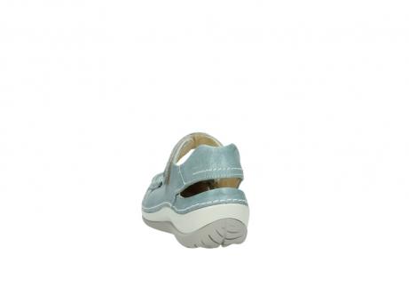 wolky sandalen 4801 venture 378 aqua blau leder_6