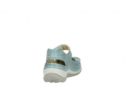 wolky sandalen 4801 venture 378 aqua blau leder_8