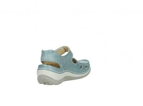 wolky sandalen 4801 venture 378 aqua blau leder_9