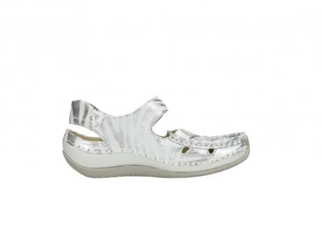 wolky sandalen 4801 venture 912 zebraprint metallic leer_13
