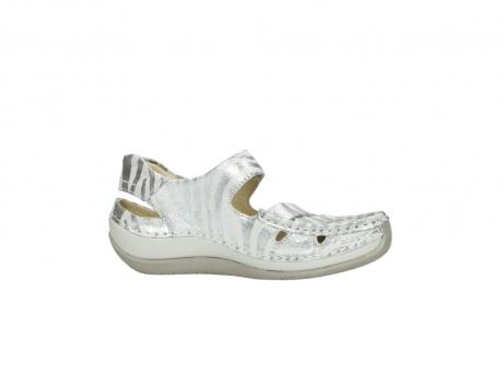 wolky sandalen 4801 venture 912 zebraprint metallic leer_14