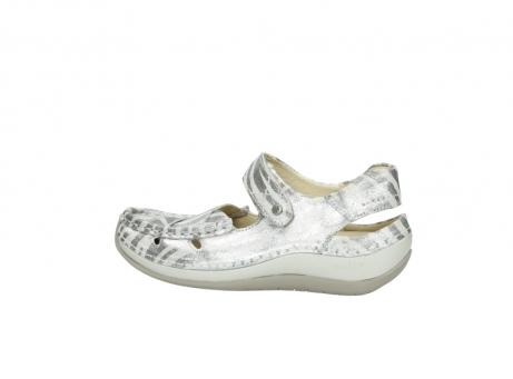 wolky sandalen 4801 venture 912 zebraprint metallic leer_2