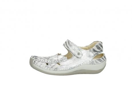wolky sandalen 4801 venture 912 zebraprint metallic leer_24