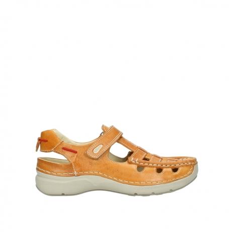 wolky sandalen 7201 rolling summer 335 amber leer