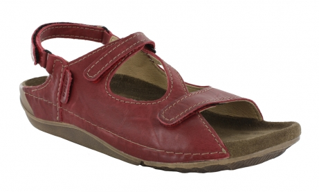 wolky sandals u 00533 leif 90500 red leather