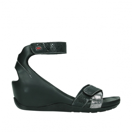 wolky sandals u 01176 do 40180 black leather