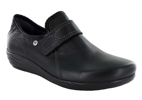 wolky slipons u 01802 desna 50000 black leather