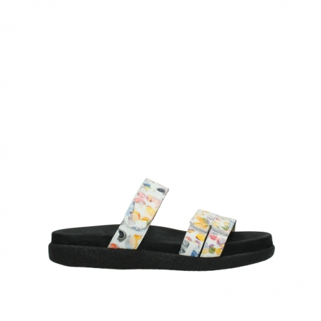wolky slippers 00501 cirrus 12910 wit multi