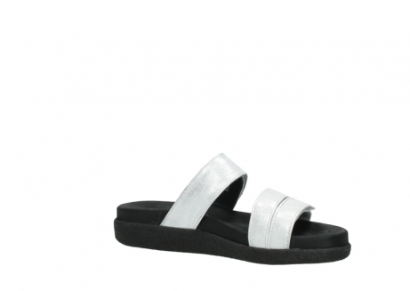 wolky mules 00501 cirrus 70120 cuir blanc casse argent_15