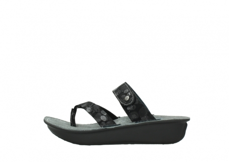 wolky slippers 00877 martinique 12000 zwart nubuck_1