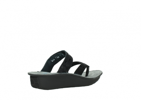wolky slippers 00877 martinique 12000 zwart nubuck_10