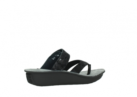 wolky slippers 00877 martinique 12000 zwart nubuck_11
