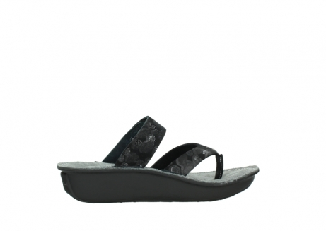 wolky slippers 00877 martinique 12000 zwart nubuck_12