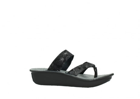 wolky slippers 00877 martinique 12000 zwart nubuck_14