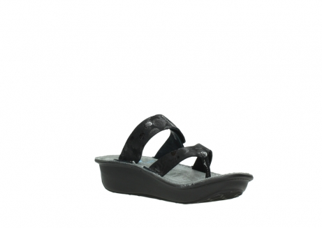 wolky slippers 00877 martinique 12000 zwart nubuck_16