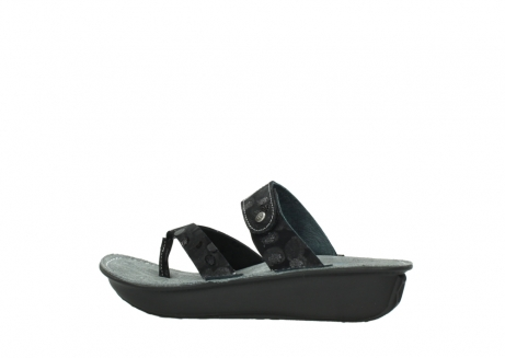 wolky slippers 00877 martinique 12000 zwart nubuck_2