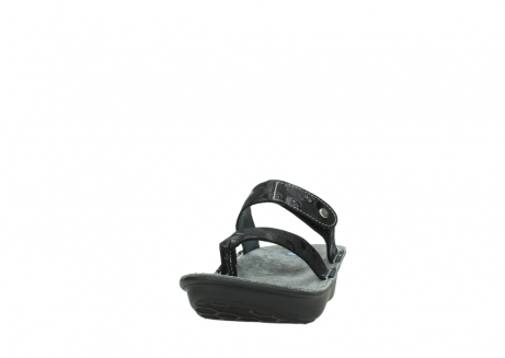 wolky slippers 00877 martinique 12000 zwart nubuck_20
