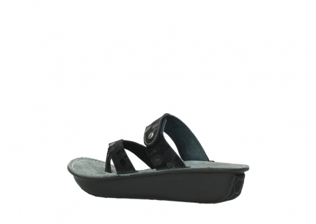 wolky slippers 00877 martinique 12000 zwart nubuck_3