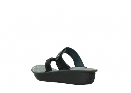 wolky slippers 00877 martinique 12000 zwart nubuck_4