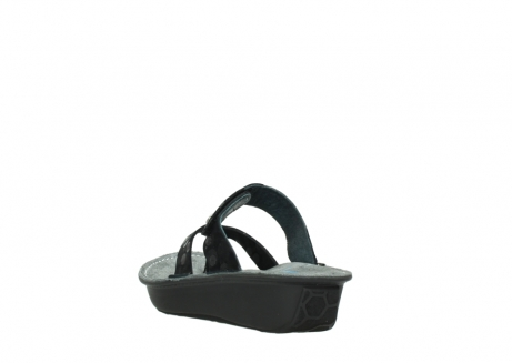 wolky slippers 00877 martinique 12000 zwart nubuck_5