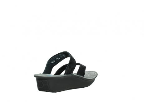 wolky slippers 00877 martinique 12000 zwart nubuck_9