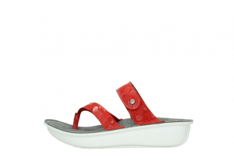 wolky slippers 00877 martinique 12500 rood nubuck_1