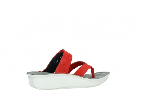 wolky slippers 00877 martinique 12500 rood nubuck_11
