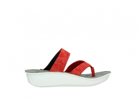 wolky slippers 00877 martinique 12500 rood nubuck_12