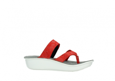 wolky slippers 00877 martinique 12500 rood nubuck_14