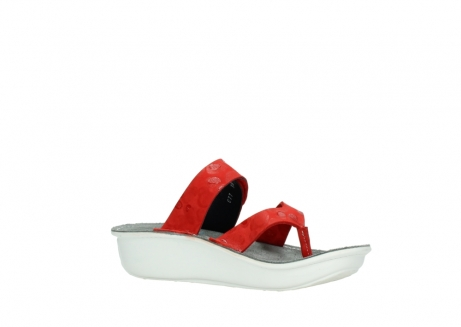 wolky slippers 00877 martinique 12500 rood nubuck_15