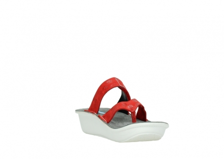 wolky slippers 00877 martinique 12500 rood nubuck_17