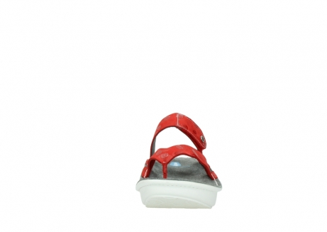 wolky slippers 00877 martinique 12500 rood nubuck_19