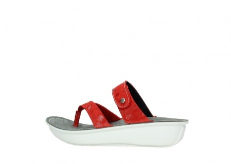 wolky slippers 00877 martinique 12500 rood nubuck_2