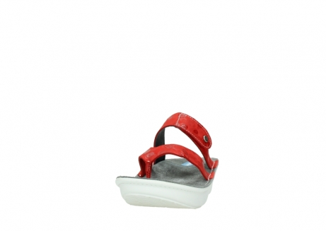 wolky slippers 00877 martinique 12500 rood nubuck_20