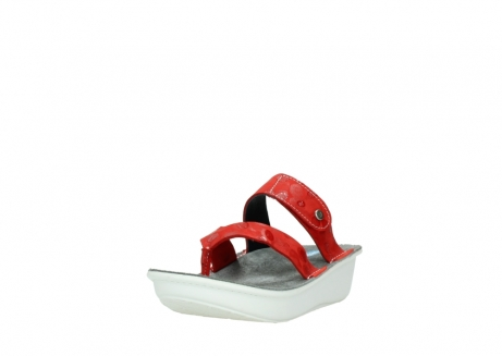 wolky slippers 00877 martinique 12500 rood nubuck_21