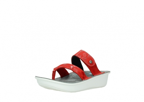 wolky slippers 00877 martinique 12500 rood nubuck_22