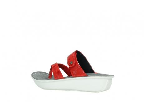 wolky slippers 00877 martinique 12500 rood nubuck_3