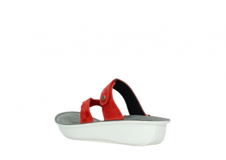 wolky slippers 00877 martinique 12500 rood nubuck_4