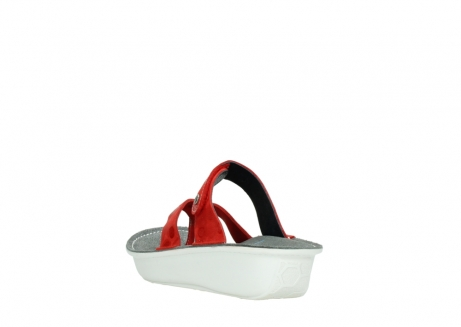 wolky slippers 00877 martinique 12500 rood nubuck_5