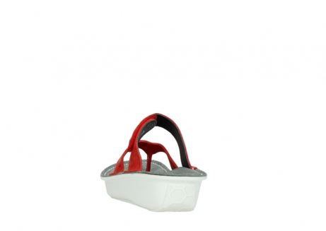 wolky slippers 00877 martinique 12500 rood nubuck_6
