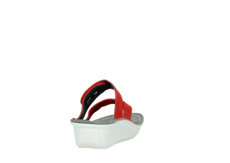 wolky slippers 00877 martinique 12500 rood nubuck_8